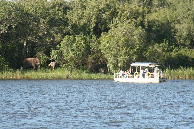Zambezi River Above the Falls