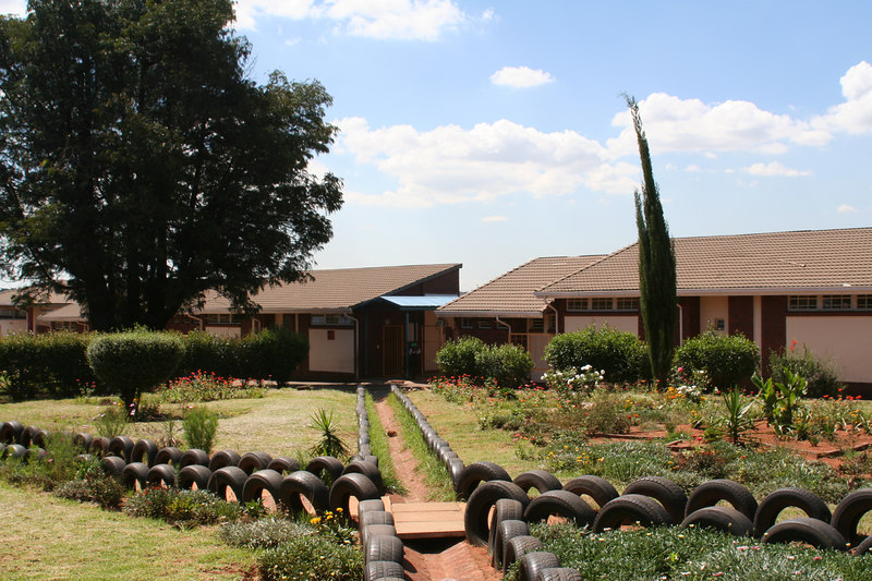 Carl Sithole Social Centre, Soweto. Run by Salvation Army.