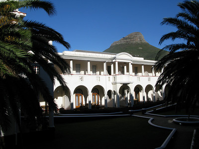 IMG_0666 View from Room at Mount Nelson Hotel, Capetown