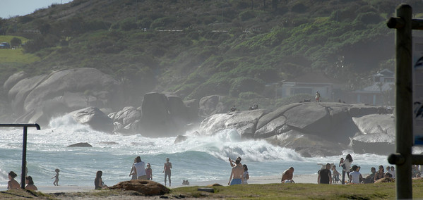 EPV0673 Beach Scene at False Bay