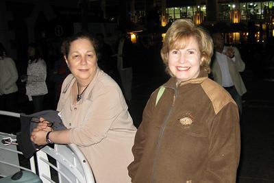 IMG_0709 Renee and Sherri at Swinging Bridge, Waterfront, Capetown