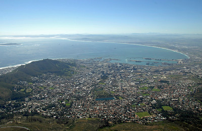 EPV0568 Capetown from Table Mountain