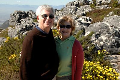 EPV0577 Gerry and Sherri atop Table Mountain