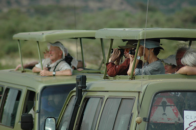 Throughout Kenya we traveled in vans.  Much to my delight, the pace of the trip allowed us plenty of time to simply watch and enjoy long, quiet views of the wildlife.