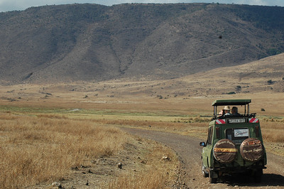Our last day of our 3 week trip through Kenya and Tanzania was spent exploring the  Ngorongoro Crater (the world's largest intact cauldera at 12 miles wide).  A fitting end to a very special trip.