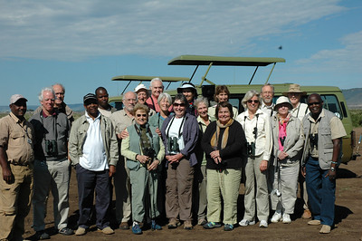 The Mass Audubon East Africa travelers were a most companionable and good humored group.  We appreciated the additional expertise of our local guides and drivers.