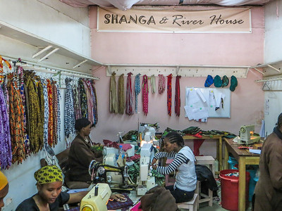 The Shanga and River House are operated for the benefit of handicapped women.