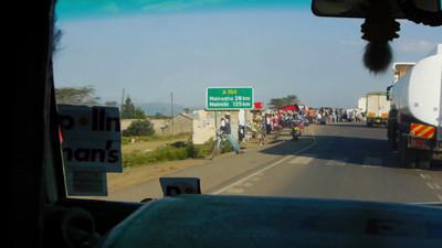 Heading back to Naivasha