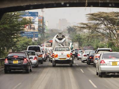 More Nairobi traffic