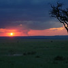 Sunset in Masai Mara