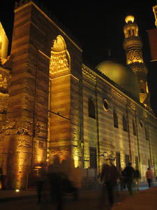 Mosque in Khan al Khalili, Cairo