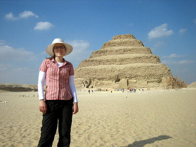 The Steph Pyramid, I mean Step Pyramid, at Sakkara.