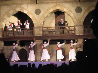 Sufi dancing at the Wikala Al Ghouri, Cairo