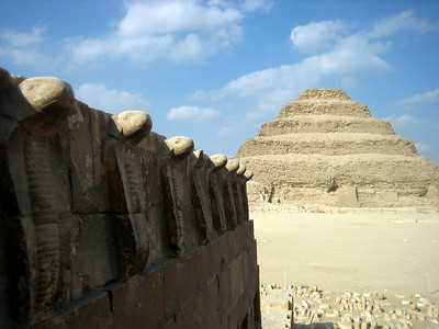 Step Pyramid at Sakkara