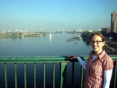 View of the Nile, Cairo