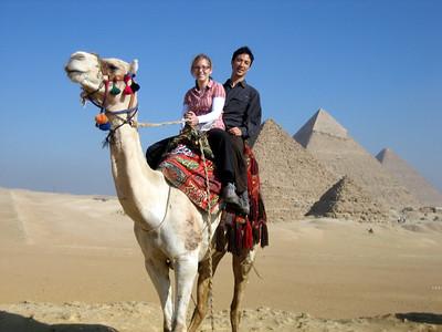 Pyramids at Giza.