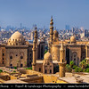 Egypt - Cairo - القاهرة - al-Qāhira - Capital of Egypt & Largest city in Middle East - Islamic Cairo - UNESCO World Heritage Site - The City of a Thousand Minarets - Medieval Cairo - Fatimid Cairo - One of the world's oldest Islamic cities with famous mosques, madrasas, hammams and fountains