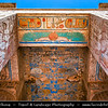 Egypt - Luxor - الأقصر - al-Uqṣur - Ancient Thebes - طيبة - UNESCO World Cultural Heritage site on banks of river Nile - Temple of Madinat Habu - Medinet Habu - Mortuary Temple of Ramesses III