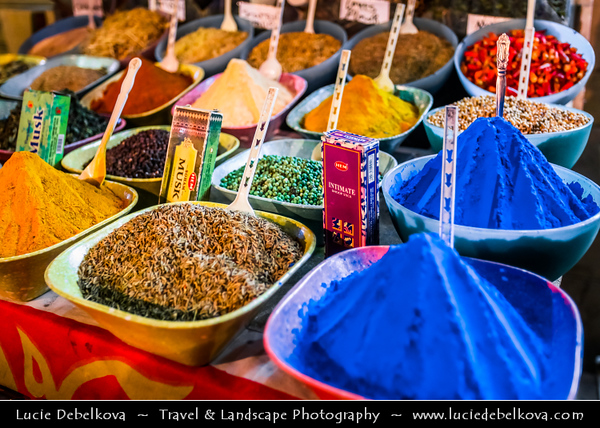 Egypt - Luxor - El Souk - Souq - Tradition open air market with various local and tourist products and souvenirs -