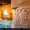 Egypt - Luxor - الأقصر - al-Uqṣur - Ancient Thebes - Θῆβαι - Thēbai - طيبة - UNESCO World Cultural Heritage site on banks of river Nile - Abu al-Haggag Mosque inside the Luxor Temple - Islamic mosque over Pharaonic Temple positioned atop the pharaonic columns