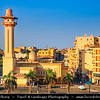 Egypt - Luxor - الأقصر - al-Uqṣur - Ancient Thebes - طيبة - UNESCO World Cultural Heritage site on banks of river Nile - City Center with Large mosque next to Luxor Temple -