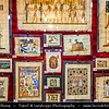 Egypt - Luxor - Traditional Craft and Products - Papyrus - Ancient Thebes - طيبة‎ - UNESCO World Cultural Heritage site on banks of river Nile - الأقصر - al-Uqṣur