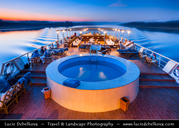 Egypt - Nile Cruise between Luxor and Dendara