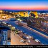 "Egypt - Luxor - الأقصر - al-Uqṣur - Ancient Thebes - Θῆβαι - Thēbai - طيبة - UNESCO World Cultural Heritage site on banks of river Nile -  Luxor Temple - الأقصر - Al-Uqṣur - ""The palaces"" -"