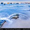 Egypt - Alexandria - Al-Iskandariyya - Αλεξάνδρεια - Ancient City on Shores of Mediterranean Sea - Fisherman Boats on the Beach