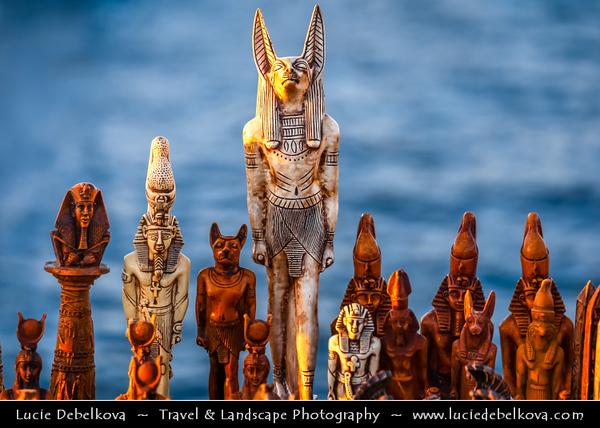 Egypt - Alexandria - al-Iskandariyya - Αλεξάνδρεια - Ancient City on Shores of Mediterranean Sea - Seafront - Tourist souvenirs