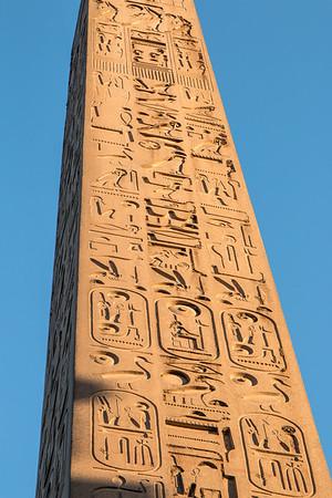 Luxor Temple Obelisk