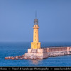 Egypt - Alexandria - الإسكندرية - al-Iskandariyya - Αλεξάνδρεια - Ancient City on Shores of Mediterranean Sea - Morning light on the Lighthouse