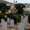 View from the WWII Italian cemetery in the town of Keren in northern Eritrea.