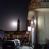 Night on the streets of Asmara in Eritrea.