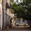 Parked among the ruins of the town of Massawa on the Red Sea coast of eastern Eritrea.