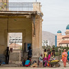 Passengers waiting at the bus station in the town of Keren in northern Eritrea.