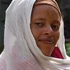 woman at Entoto Maryam Church