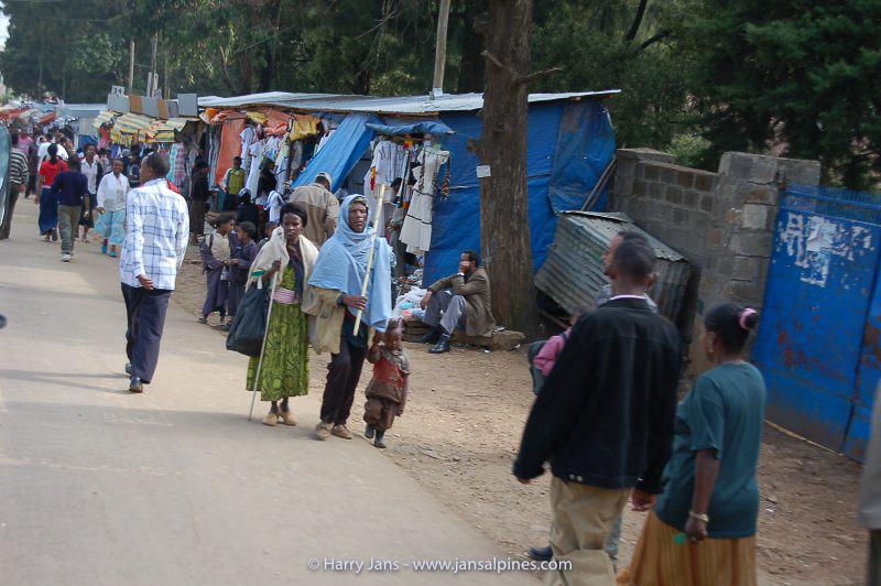 street life North of Addia Ababa