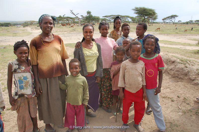 friendly Ethiopian people