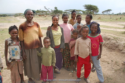 friendly Ethiopian people