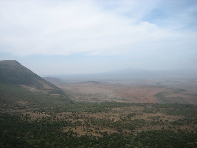 The rift valley - the cradle of modern man.