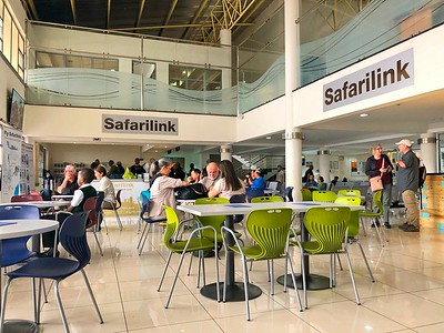 Safarilink Departures - Wilson Airfield, Nairobi