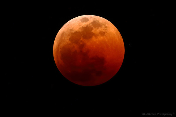 Total Eclipse Blood Moon
