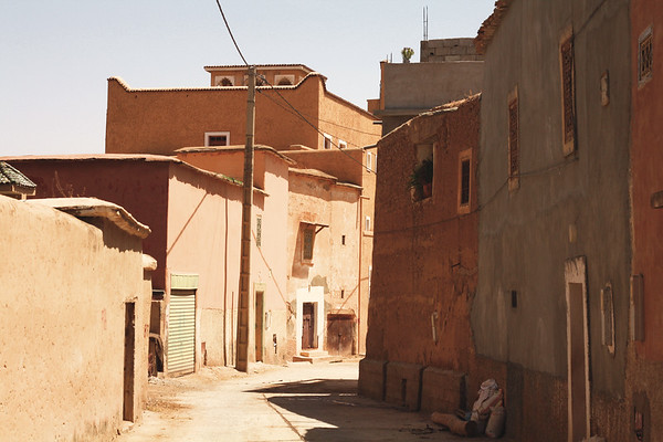 Small town near Agadir. June 2013
