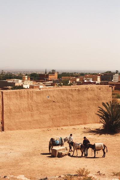 Small town near Agadir. June 2013