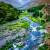 Northern Africa - Kingdom of Morocco - High Atlas Mountains - Toubkal National Park - Imlil - Traditional mountain village at 1,800 metres (5,900 ft) above sea level