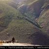 Northern Africa - Kingdom of Morocco - High Atlas Mountains - Toubkal National Park - Tizi N'Tacheddirt - Tachdirt - Traditional mountain village at 2500m altitude, highest settlement in Rhirhaia valley