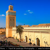 Africa - Morocco - Marrakesh - Marrakech - UNESCO World Heritage Site - Old Town - Medina of Marrakesh - Historical center - Moulay El Yazid Mosque - La mosquée Moulay Al Yazid - Masjid Mawlay al-Yazid