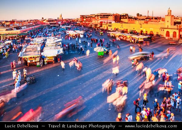 Africa - Morocco - Marrakesh - Marrakech - UNESCO World Heritage