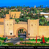 Africa - Morocco - Marrakesh - Marrakech - UNESCO World Heritage Site - Old Town - Medina of Marrakesh - Historical center - Historical City Walls
